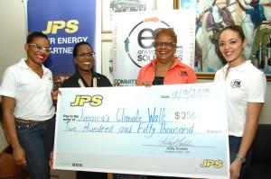 JPS Joins Jamaica's Climate Walk